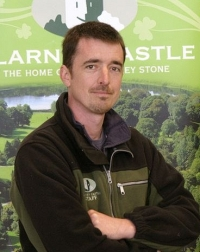 Adam Whitbourn, Blarney Castle Head Gardener