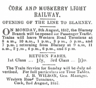Cork and Muskerry Light Railway